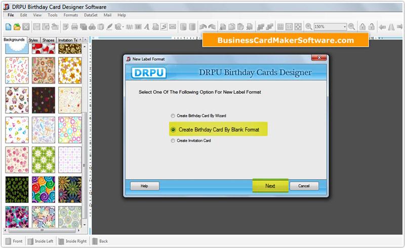 birthday cards maker software screenshots birthday cards designing